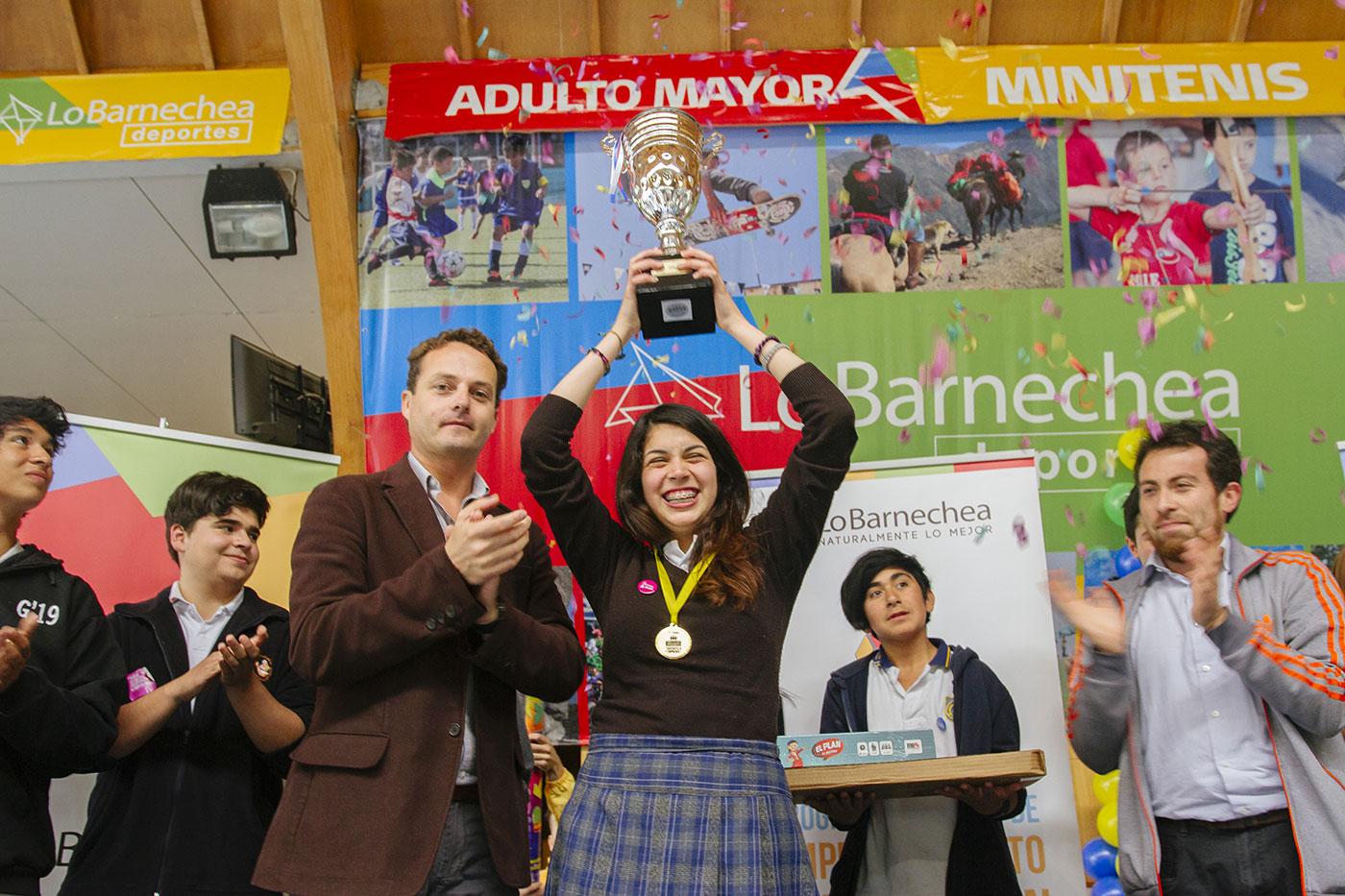 ganadora torneo LBE 2016